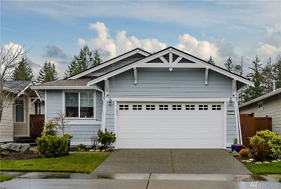 Lacey Single Family Home For Sale: 8222 Vashon Dr