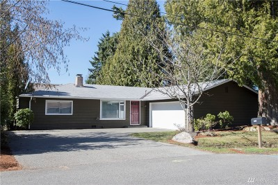 Renton Single Family Home For Sale: 12411 156th Ave SE