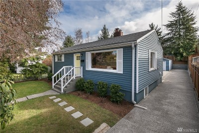 Seattle Single Family Home For Sale: 8132 17th Ave SW