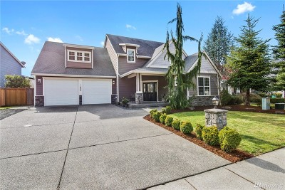 Puyallup Single Family Home For Sale: 11824 181st St E