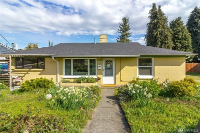 Seattle Single Family Home For Sale: 9816 Linden Ave N