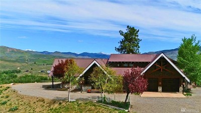 Winthrop WA Single Family Home For Sale: $685,000