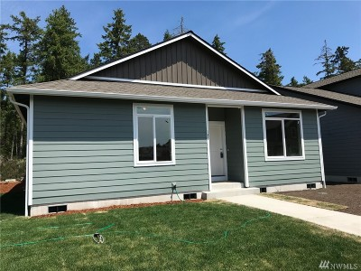 Shelton WA Single Family Home For Sale: $235,900