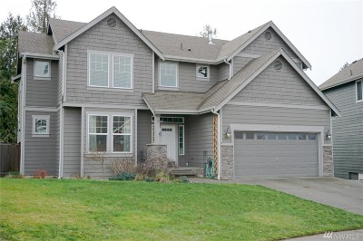 Buckley Single Family Home For Sale: 22618 94th St E