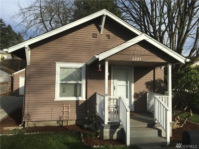 Single Family Home For Sale: 5221 S Steele St St