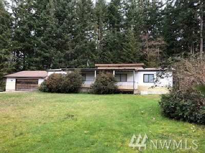 Langley WA Single Family Home For Sale: $150,000
