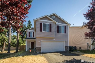 Spanaway Single Family Home For Sale: 1918 179th St Ct E