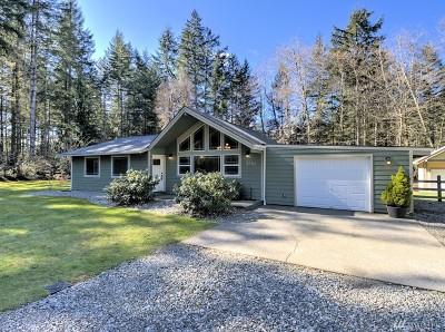 Mason County Single Family Home Pending Inspection: 2551 SE Binns Swiger Loop Rd