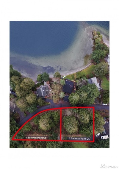 Bellingham Residential Lots & Land For Sale: 4 Sanwick Point Ct