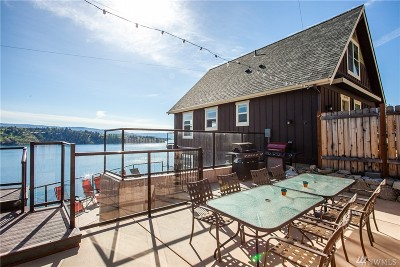 Chelan County, Douglas County Single Family Home For Sale: 10490 S Lakeshore Rd