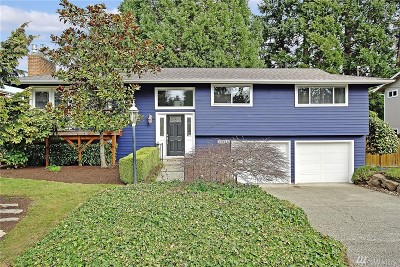 Bellevue Single Family Home For Sale: 12126 SE 60 Place