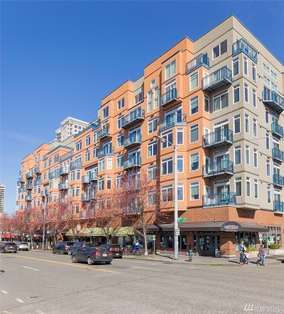 Seattle Condo/Townhouse Sold: 2414 1st Ave #608