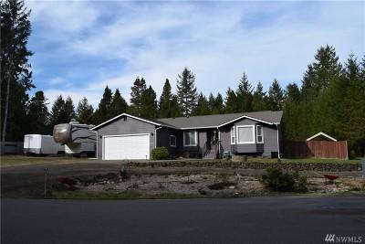 Mason County Single Family Home Pending Inspection: 40 E Bald Eagle Dr