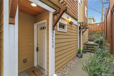 Seattle Single Family Home For Sale: 8649 Delridge Wy SW #B