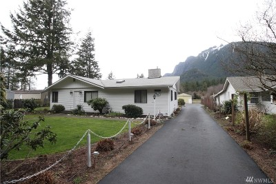 North Bend, Snoqualmie Single Family Home For Sale: 1310 E North Bend Wy