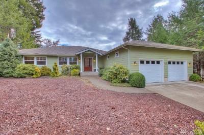 Mason County Single Family Home Pending Inspection: 921 E Wilson Wy