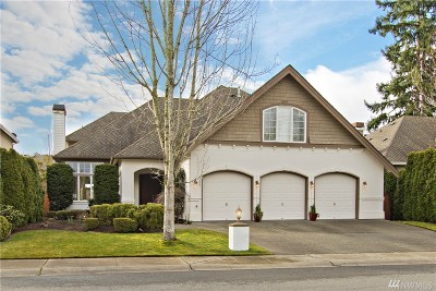 Sammamish Single Family Home For Sale: 21027 SE 5th St