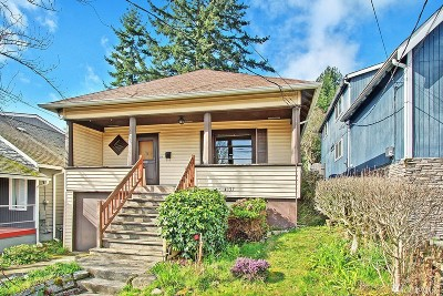 Seattle Single Family Home For Sale: 4137 41st Ave S