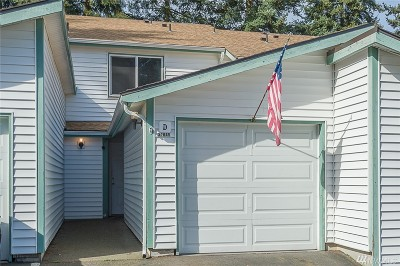 Federal Way Condo/Townhouse For Sale: 31845 SW 18th Ave #D