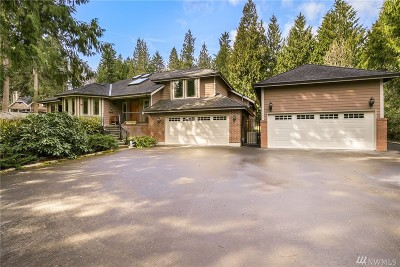 Puyallup Single Family Home For Sale: 2608 41st St SE