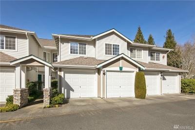 Redmond Condo/Townhouse For Sale: 4607 168th Ct NE