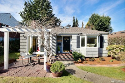 Seattle Single Family Home For Sale: 3445 40th Ave W