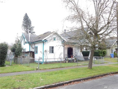 Tacoma Single Family Home For Sale: 631 S Steele St