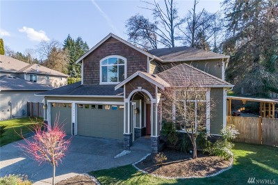 Kenmore Single Family Home For Sale: 7625 NE 170th St