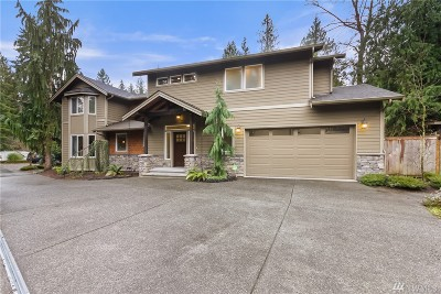 Sammamish Single Family Home For Sale: 19913 SE 24th Wy