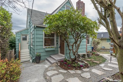 Seattle Single Family Home For Sale: 3436 37th Ave SW