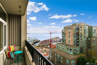 Seattle Condo/Townhouse For Sale: 2717 Western Ave #7008