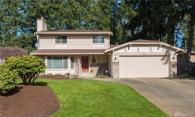 Puyallup Single Family Home For Sale: 9605 166th St E