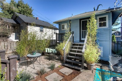 Seattle Single Family Home For Sale: 3318 31st Ave SW