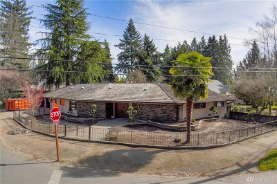 Burien Single Family Home For Sale: 14902 22nd Ave SW