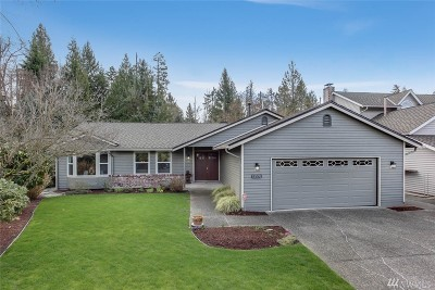 Renton Single Family Home For Sale: 13531 SE 189th Place