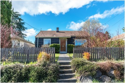 Seattle Single Family Home For Sale: 9231 12th Ave SW