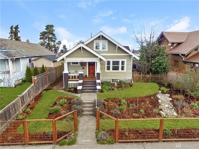 Tacoma Single Family Home For Sale: 2325 S Grant Ave