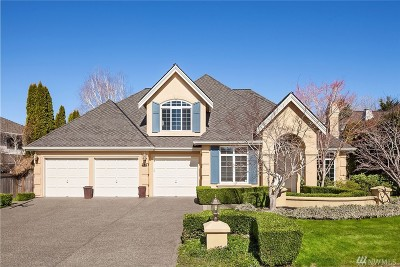 Sammamish Single Family Home For Sale: 21318 SE 34th Place