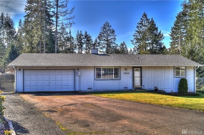 Shelton WA Single Family Home Sold: $195,000