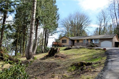 Thurston County Single Family Home For Sale: 1847 Madrona Beach Rd NW