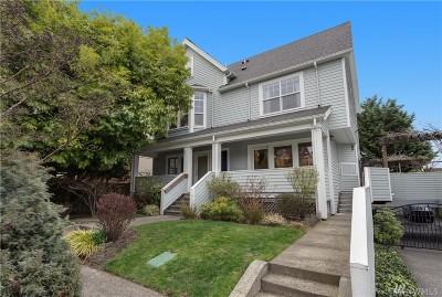 Seattle Condo/Townhouse For Sale: 414 Malden Ave E #A