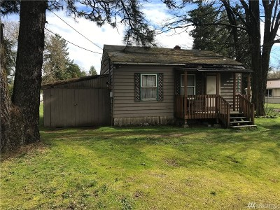 Rochester WA Single Family Home For Sale: $80,000