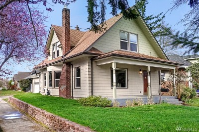 Tacoma Single Family Home For Sale: 3402 N Madison St