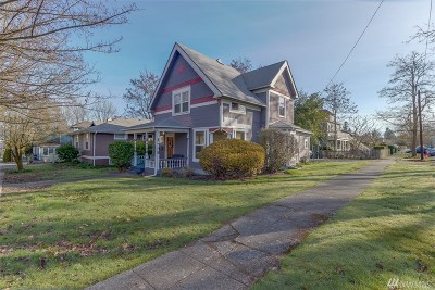 Thurston County Single Family Home For Sale: 1616 Capitol Wy SE