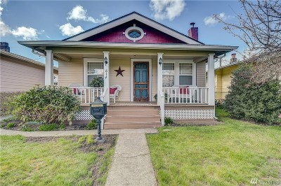 Tacoma Single Family Home For Sale: 814 S Oakes St