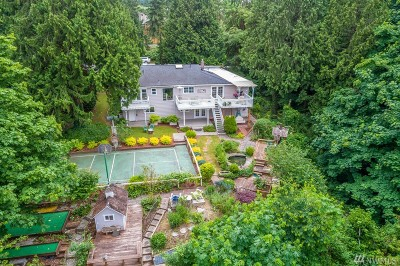Kenmore Single Family Home For Sale: 8124 NE 166th