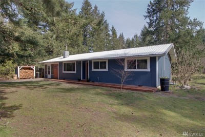 Rainier Single Family Home For Sale: 13144 Horizon Pioneer Rd SE