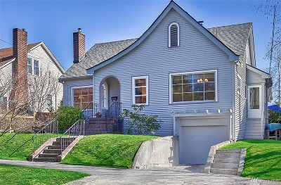 Seattle Single Family Home For Sale: 4328 Bagley Ave N