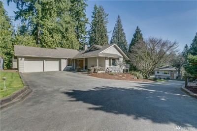 Woodinville Single Family Home For Sale: 15714 NE 203rd Place