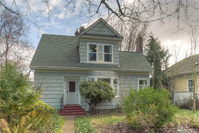 Tacoma Single Family Home For Sale: 817 S Steele St